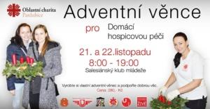 Adventní věnce pro Domácí hospic @ Salesiánský klub mládeže, z. s. Centrum Don Bosco | Pardubický kraj | Česko
