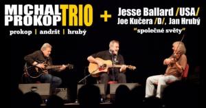 Michal Prokop Trio + Jesse Ballard /USA/ @ Žlutý pes club | Pardubický kraj | Česko