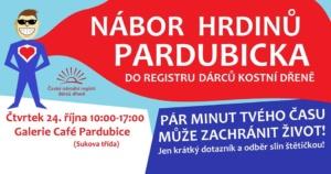 Nábor do registru dárců kostní dřeně Pardubice @ Galerie Café Park Restaurant | Pardubický kraj | Česko