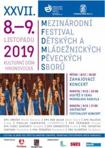 Mezinárodní festival dětských a mládežnických sborů @ Kulturní dům Hronovická | Pardubický kraj | Česko