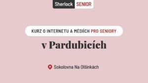 Mediální kurz Sherlock Senior v Pardubicích @ Sportovní areál Na Olšinkách | Pardubický kraj | Česko