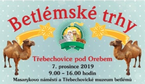 Betlémské trhy v Třebechovicích 2019 @ Třebechovické muzeum betlémů | Třebechovice pod Orebem | Královéhradecký kraj | Česko
