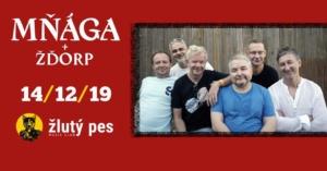 Mňága a Žďorp @ Žlutý pes club | Pardubický kraj | Česko