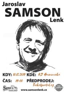 Samson sólo v Pardubicích @ Kulturní dům Hronovická | Pardubický kraj | Česko