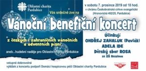 Vánoční benefiční koncert @ chrám Českobratrské církve evangelické | Pardubický kraj | Česko