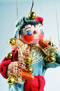 S vysvědčením za Kašpárkem @ Muzeum loutkářských kultur v Chrudimi | Chrudim | Pardubický kraj | Česko