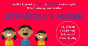 Strašidla v hudbě - koncert pro děti a rodiče @ Komorní filharmonie Pardubice | Pardubický kraj | Česko