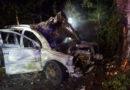 Na Chrudimsku po dopravní nehodě hořelo auto…