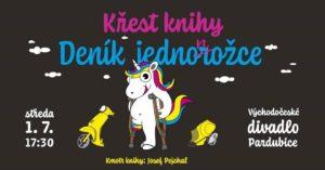 Křest knihy Deník jednonožce @ Východočeské divadlo Pardubice   Pardubický kraj   Česko