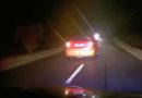 VIDEO: Zdrogovaný řidič se snažil ujet Policii. Ohrožoval spolujezdkyni i dítě…
