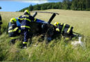Při letecké nehodě vírníku zraněny dvě osoby…