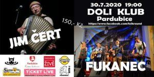 Jim Čert + Fukanec @ Folk klub Pardubice / Bluegrass klub Pardubice | Pardubický kraj | Česko