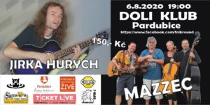 Jirka Hurych + Mazzec @ Folk klub Pardubice / Bluegrass klub Pardubice | Pardubický kraj | Česko