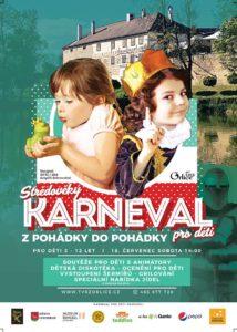 Středověký KARNEVAL z pohádky do pohádky pro děti @ tvrz Orlice | Letohrad | Pardubický kraj | Česko