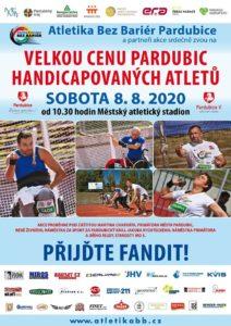 Velká cena města Pardubic v atletice handicapovaných @ Městský atletický stadión Pardubice | Pardubický kraj | Česko