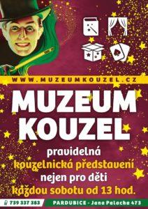 Kouzelnické představení + komentovaná prohlídka muzea @ Pardubický klub kouzel a magie | Pardubický kraj | Česko
