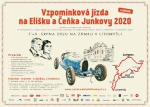Vzpomínková jízda na Elišku a Čeňka Junkovy 2020 @ Zámek Litomyšl | Litomyšl | Pardubický kraj | Česko