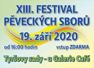 XIII. Festival pěveckých sborů @ Tyršovy sady | Pardubický kraj | Česko