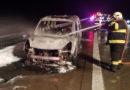 Hasiči likvidovali požár osobního vozu na alternativní pohon…
