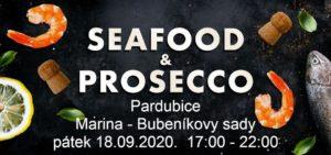 Seafood & Prosecco Pardubice @ Marina Bubeníkovy sady | Pardubický kraj | Česko
