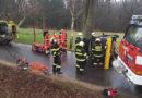 Řidiče osobního vozidla museli hasiči vyprostit…