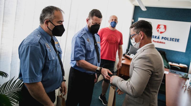 Poděkování strážníkům za aktivní přístup k práci…