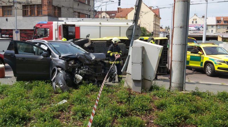 VIDEO: Dopravní nehoda sanitky…