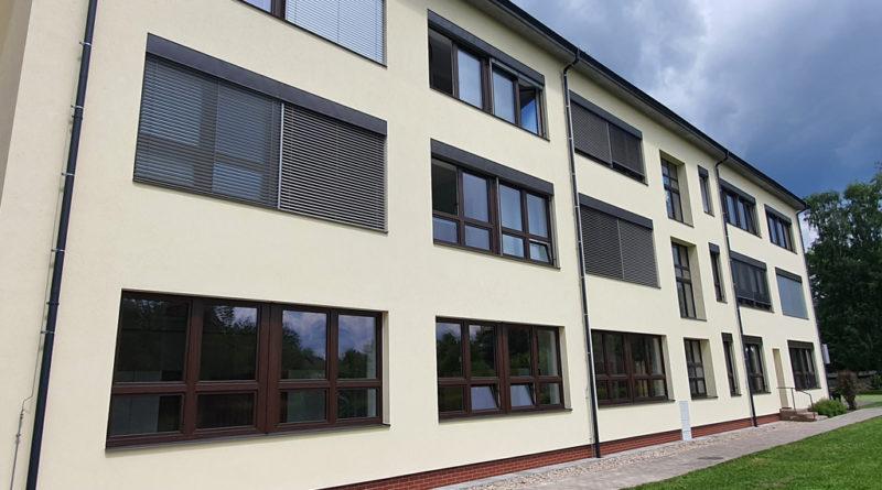 Střední škola a základní škola v Žamberku má nový úspornější kabát…