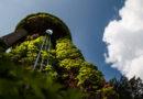 Jedna z dominant Pardubické nemocnice jde k zemi. Bourá se starý komín…
