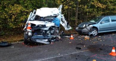 Tragicky skončila nehoda na silnici I/35 u Chvojence…