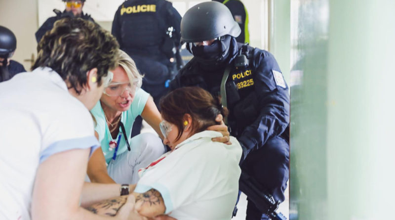 """Část pardubické nemocnice se stala """"bojištěm""""…"""